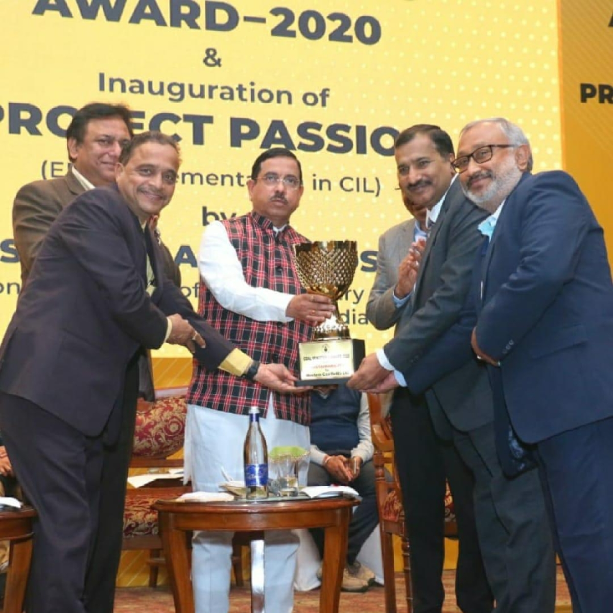 Coal India arms NCL, CCL and WCL bag Coal Minister's Award