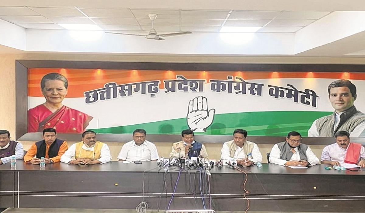 Chhattisgarh Congress chief blames BJP for paddy procurement delay