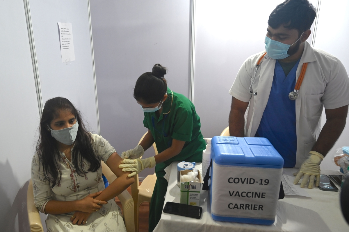 Mumbai: BKC Jumbo dedicated COVID-19 hospital takes part in Coronavirus vaccine dry run