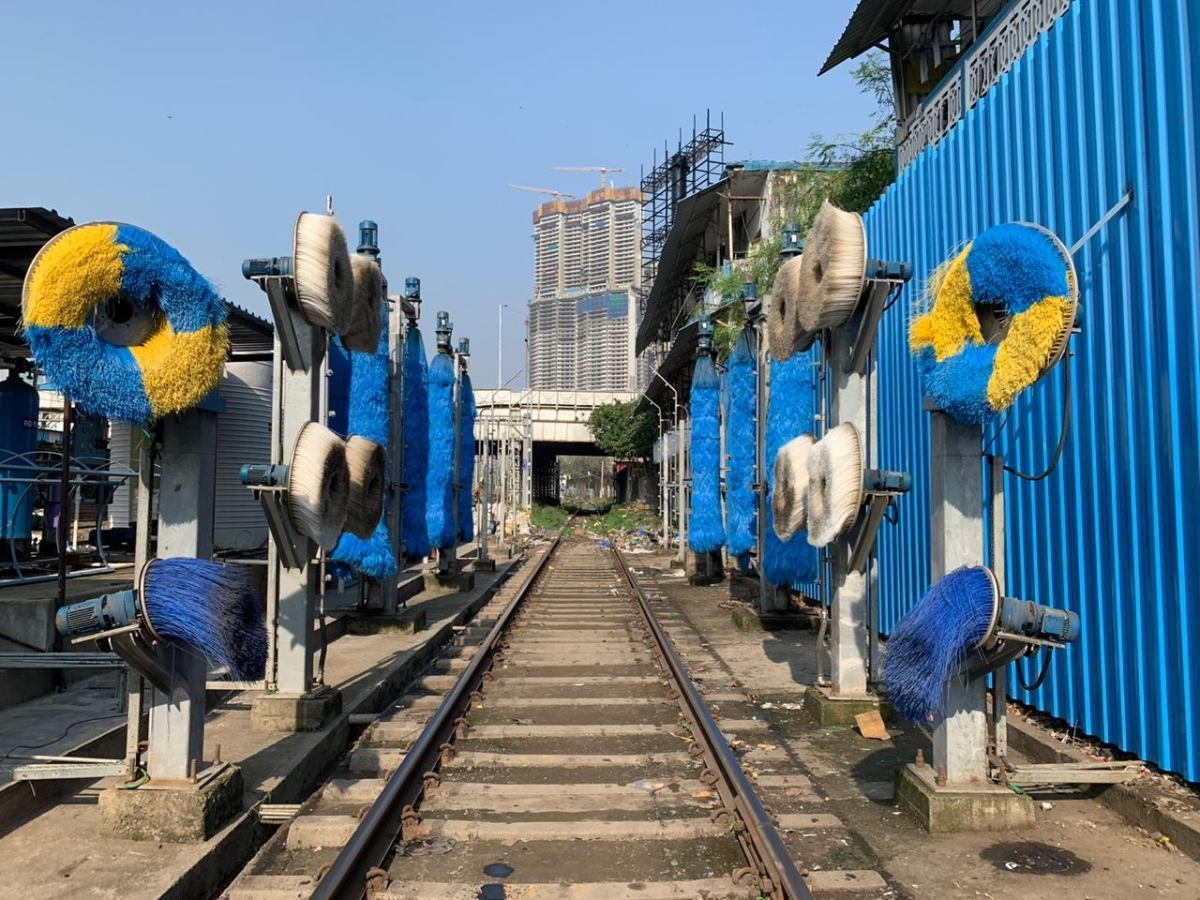Western Railway commissions automatic coach washing plant at coaching depot, Mumbai Central