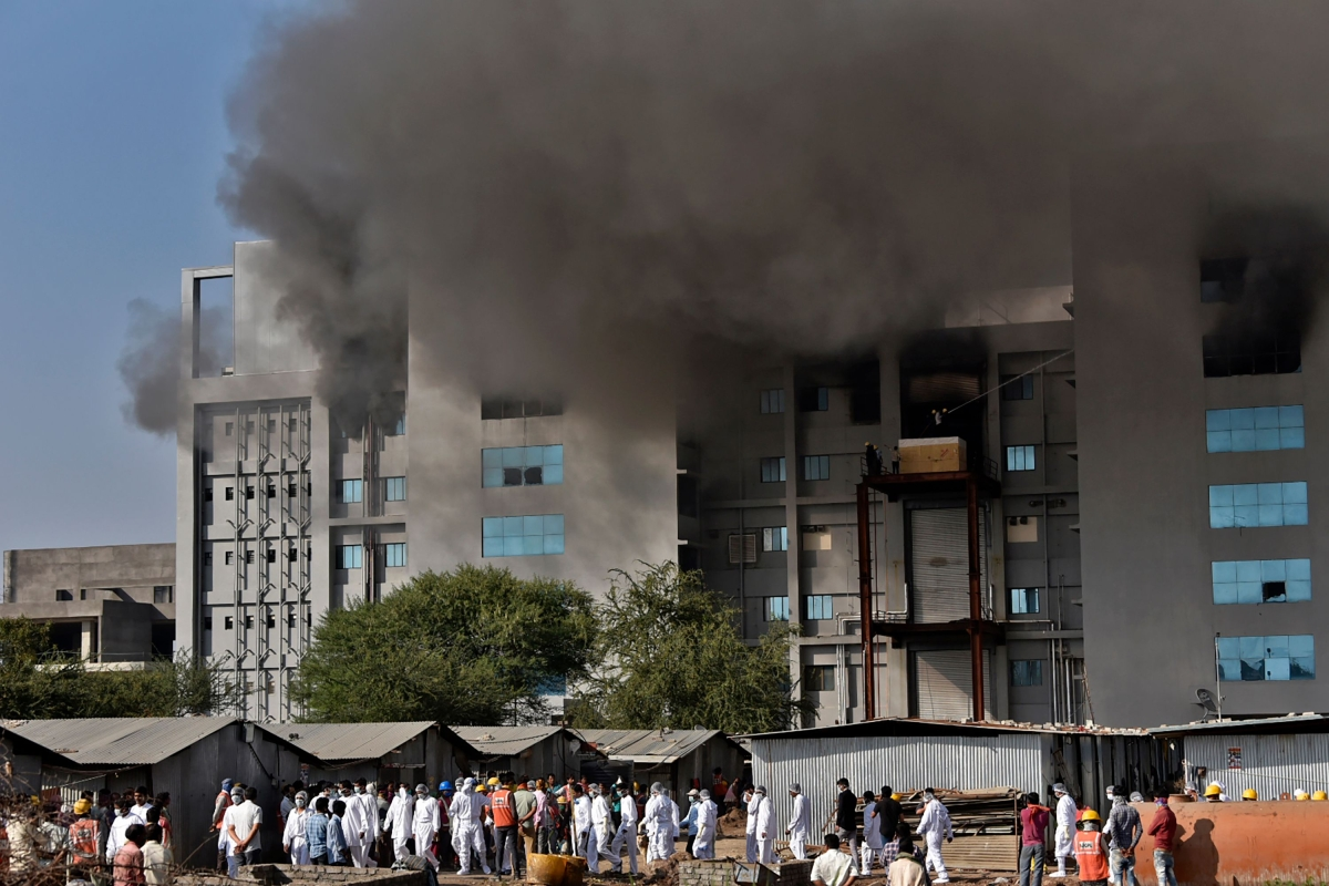 Pune: 5 dead in fire at Serum Institute of India; CEO Adar Poonawala offers condolences