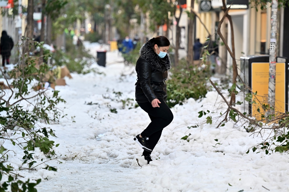 Icy weather hampers coronavirus vaccine rollout in Spain