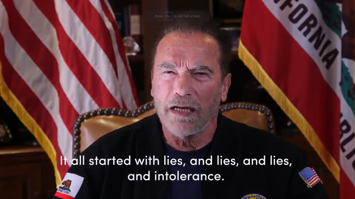 'It all started with lies, intolerance...': Arnold Schwarzenegger compares US Capitol mob to Nazis; reveals details about his childhood