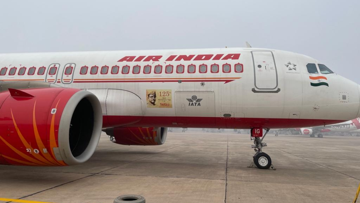 Air India pays tribute to Netaji Subhas Chandra Bose on his birth anniversary