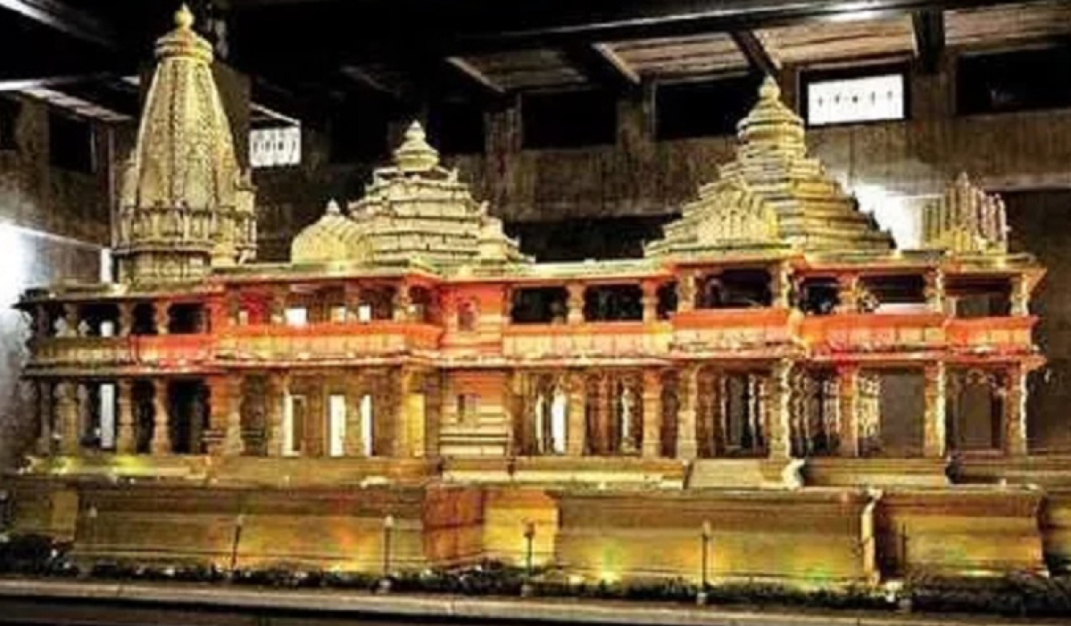 Model of Ram Temple to be constructed at Ayodhya
