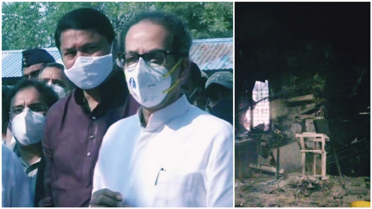 Bhandara fire tragedy: CM Uddhhav Thackeray visits hospital, orders safety audit