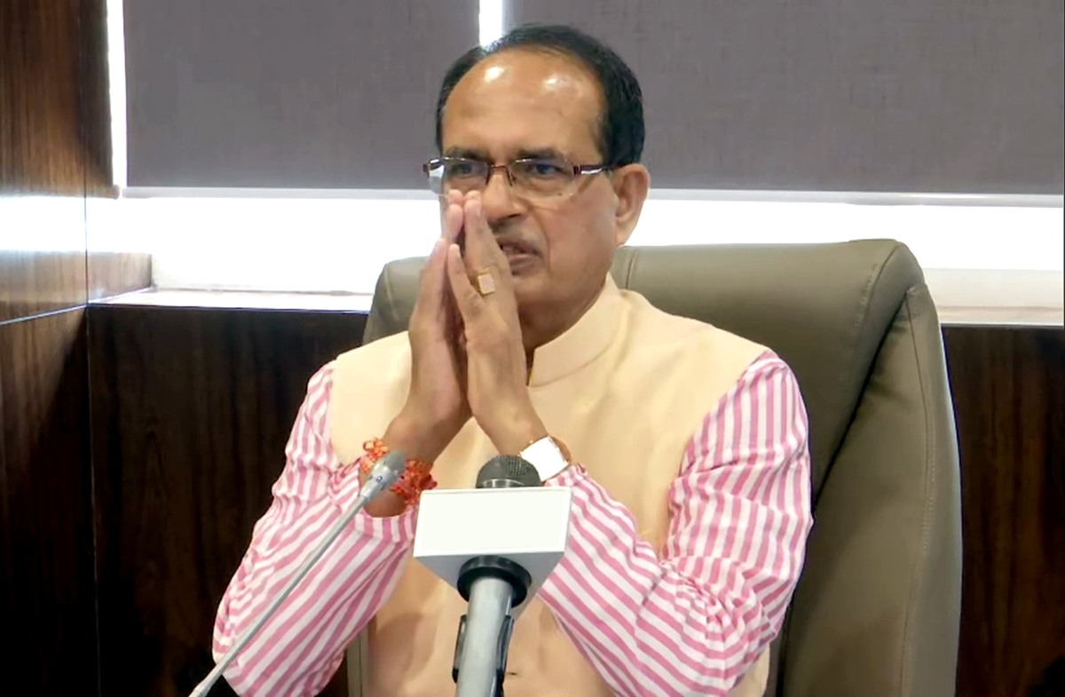 Madhya Pradesh: Chief minister Shivraj Singh Chouhan expresses gratitude to PM Modi for flagging off trains connecting Statue of Unity