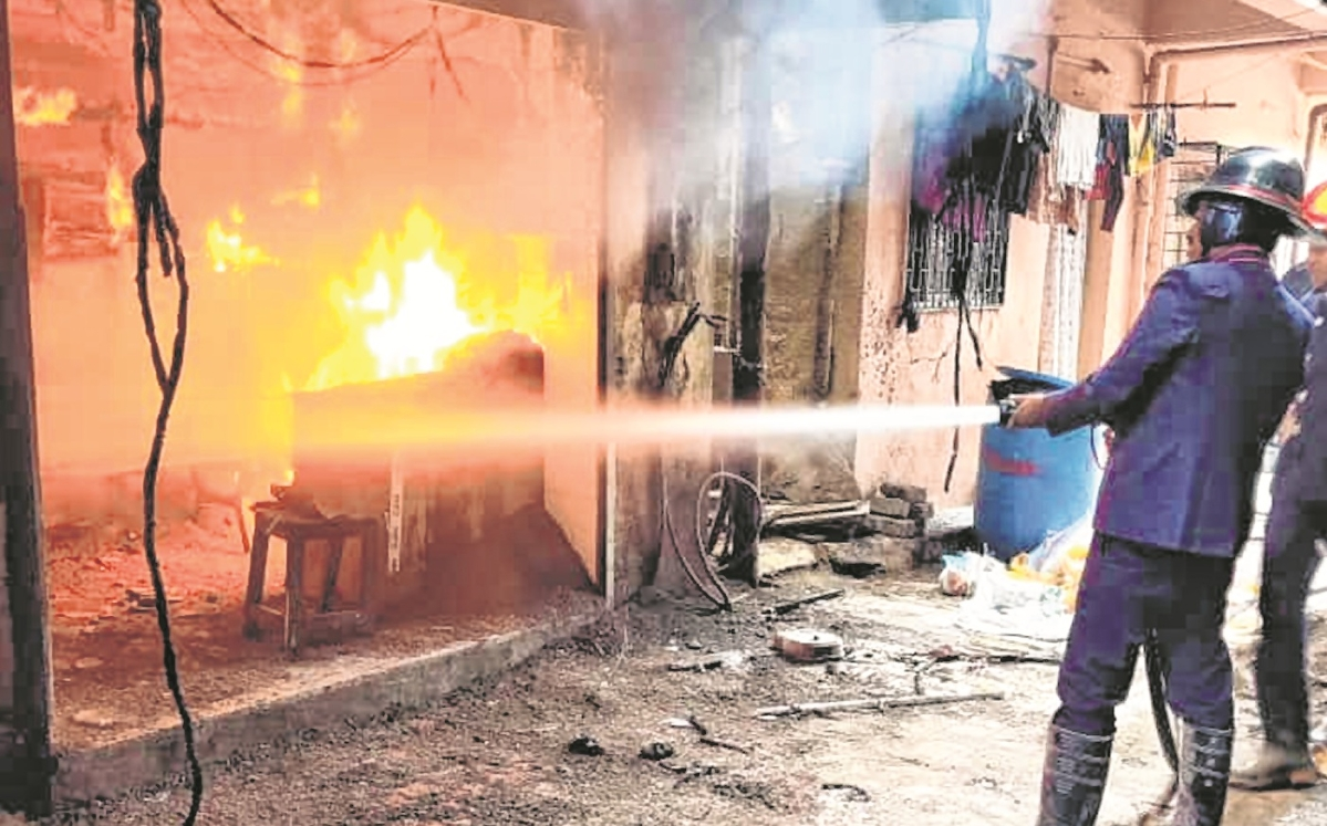 Shop gutted in Thane fire, no damage or casualty