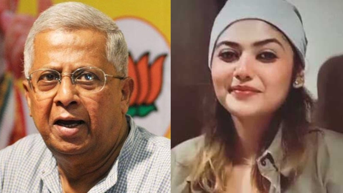 Senior BJP leader and former Meghalaya Governor Tathagata Roy (L) has been up-in-arms against Bengali actress Saayoni Ghosh (R) over the 2015 tweet