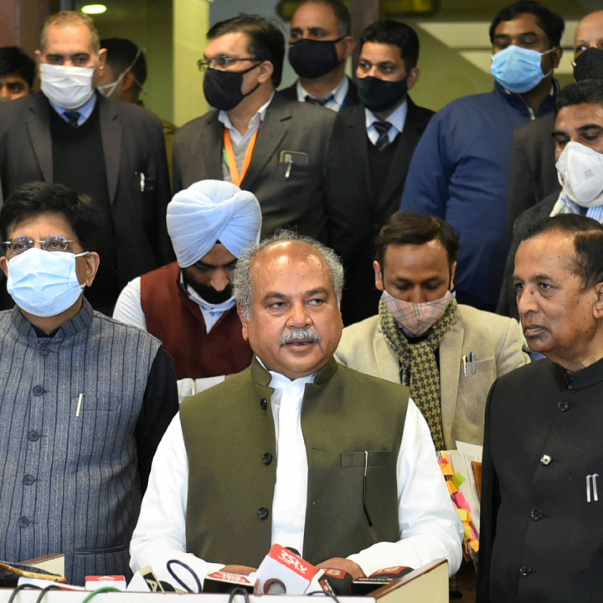 Govt ready to amend new agri laws: Union minister Narendra Singh Tomar