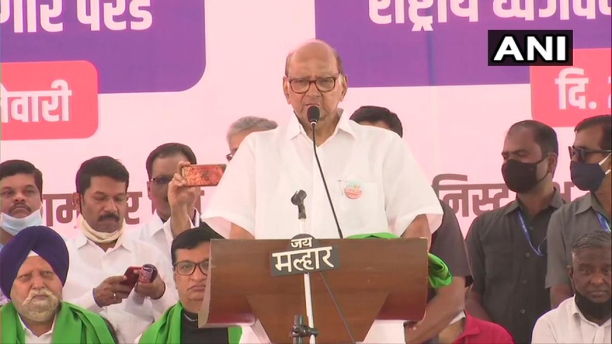 Mumbai: Maha Governor Bhagat Singh Koshyari has time for Kangana Ranaut, not for farmers, says Sharad Pawar