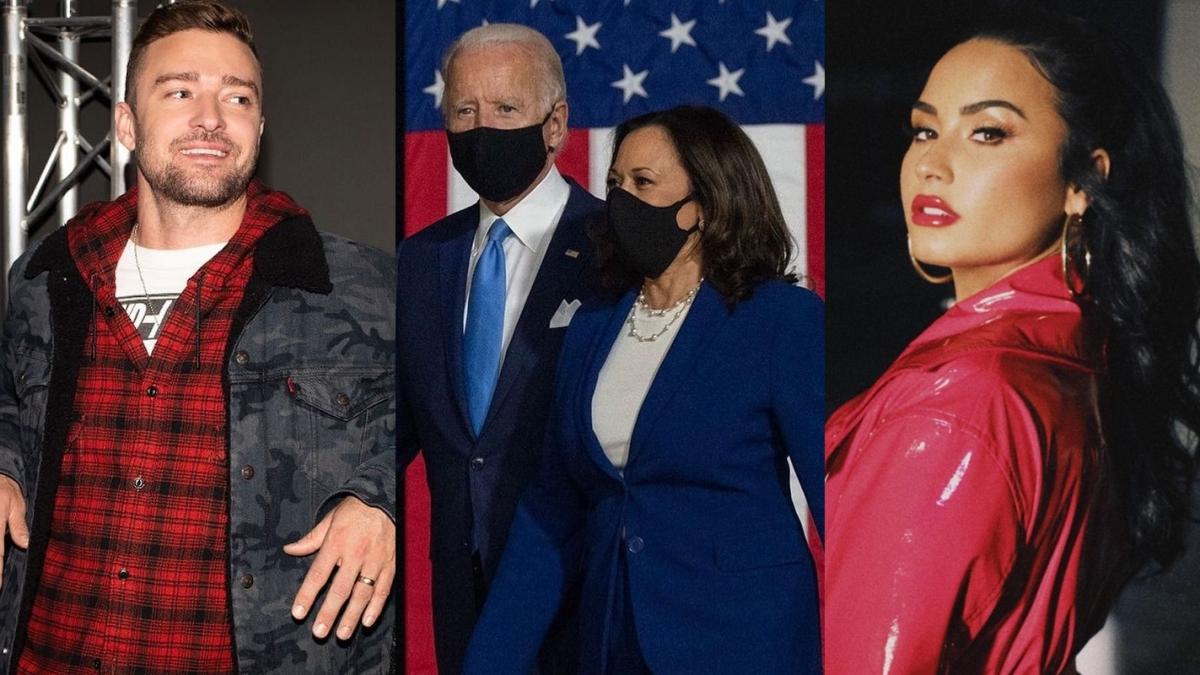 Justin Timberlake, Demi Lovato, and others to perform at Joe Biden and Kamala Harris' inauguration