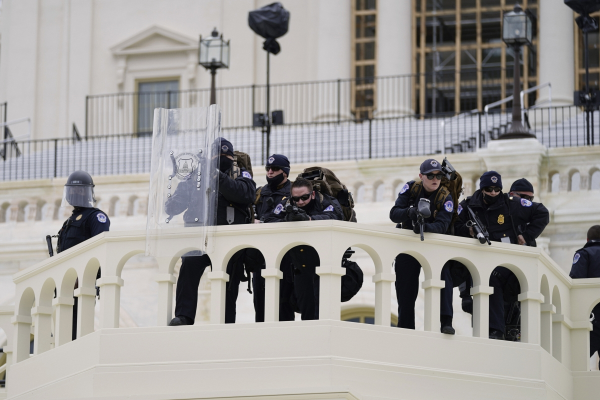 Ignorance of Capitol police and poor planning blamed for deadly Capitol siege