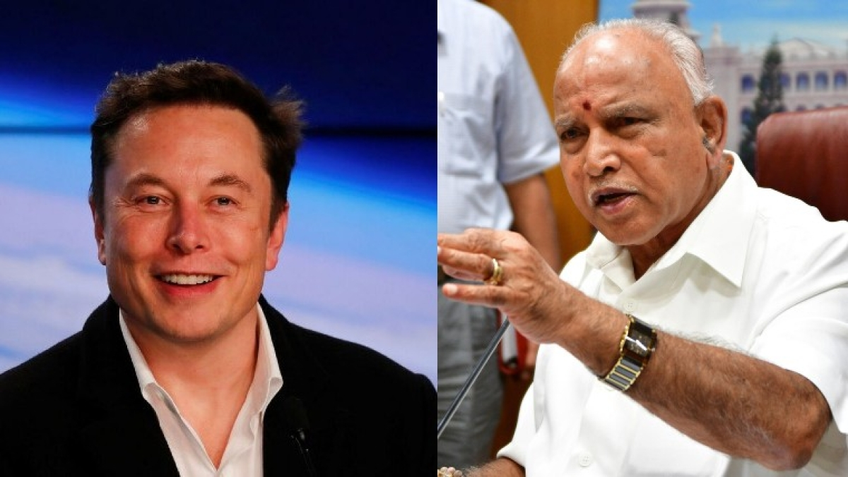 'Karnataka will lead India's journey towards Green Mobility': CM BS Yediyurappa after Elon Musk's Tesla registers unit in Bengaluru