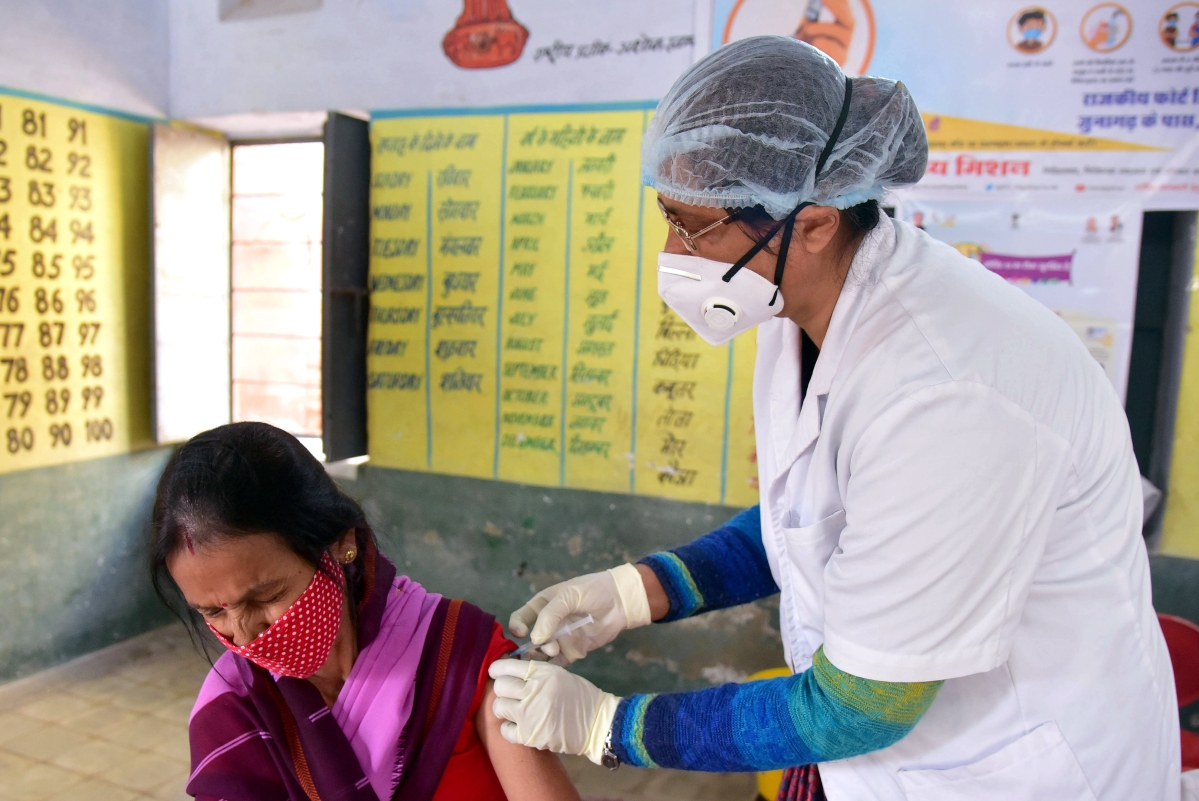 India fastest in world to reach one million COVID-19 vaccination mark