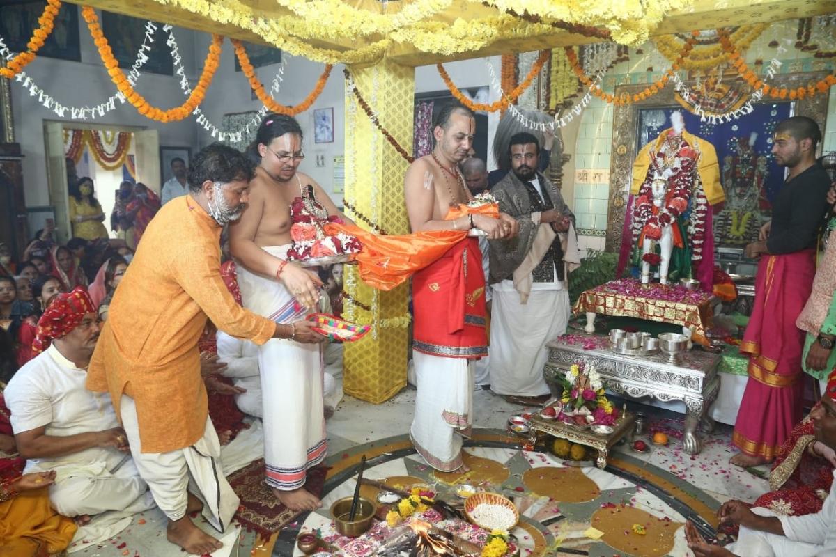 Indore: Goda Rangnath 'wedding ceremony'