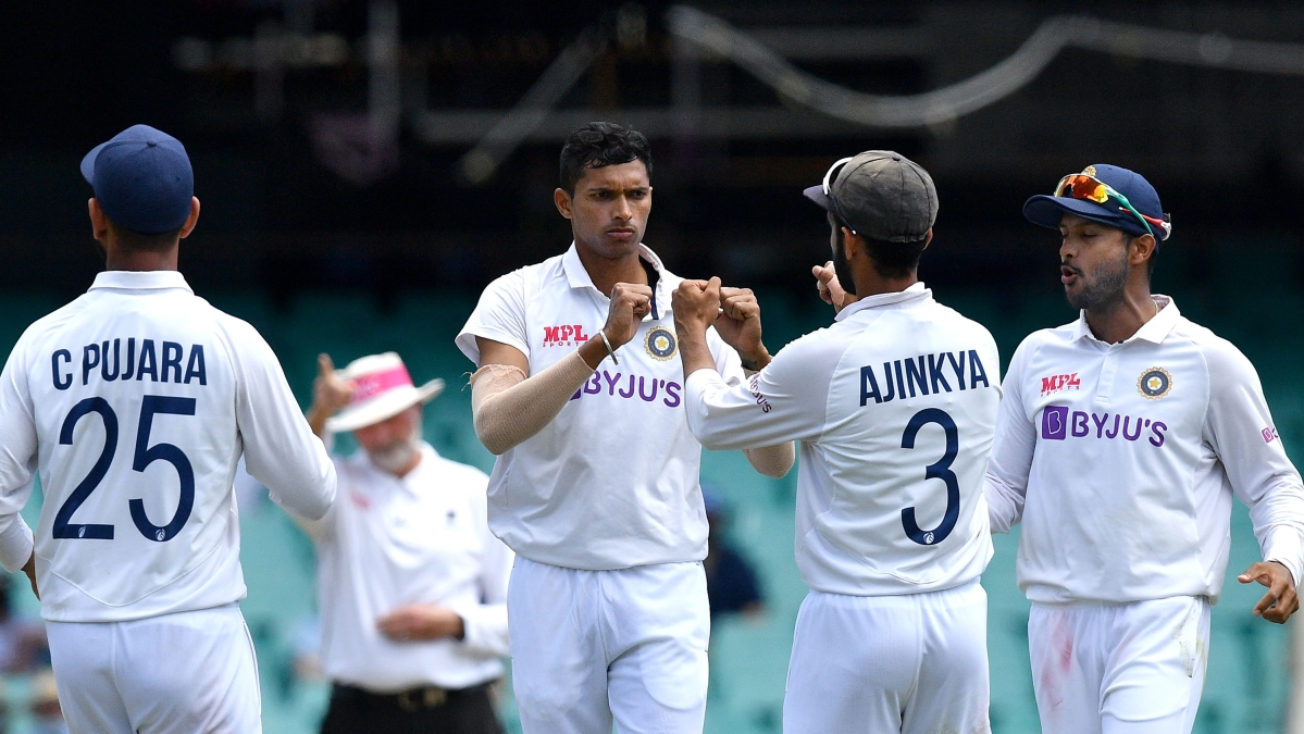 Ind vs Aus, 3rd Test: Saini gets double breakthrough, Australia 182/4 at lunch for overall lead of 276