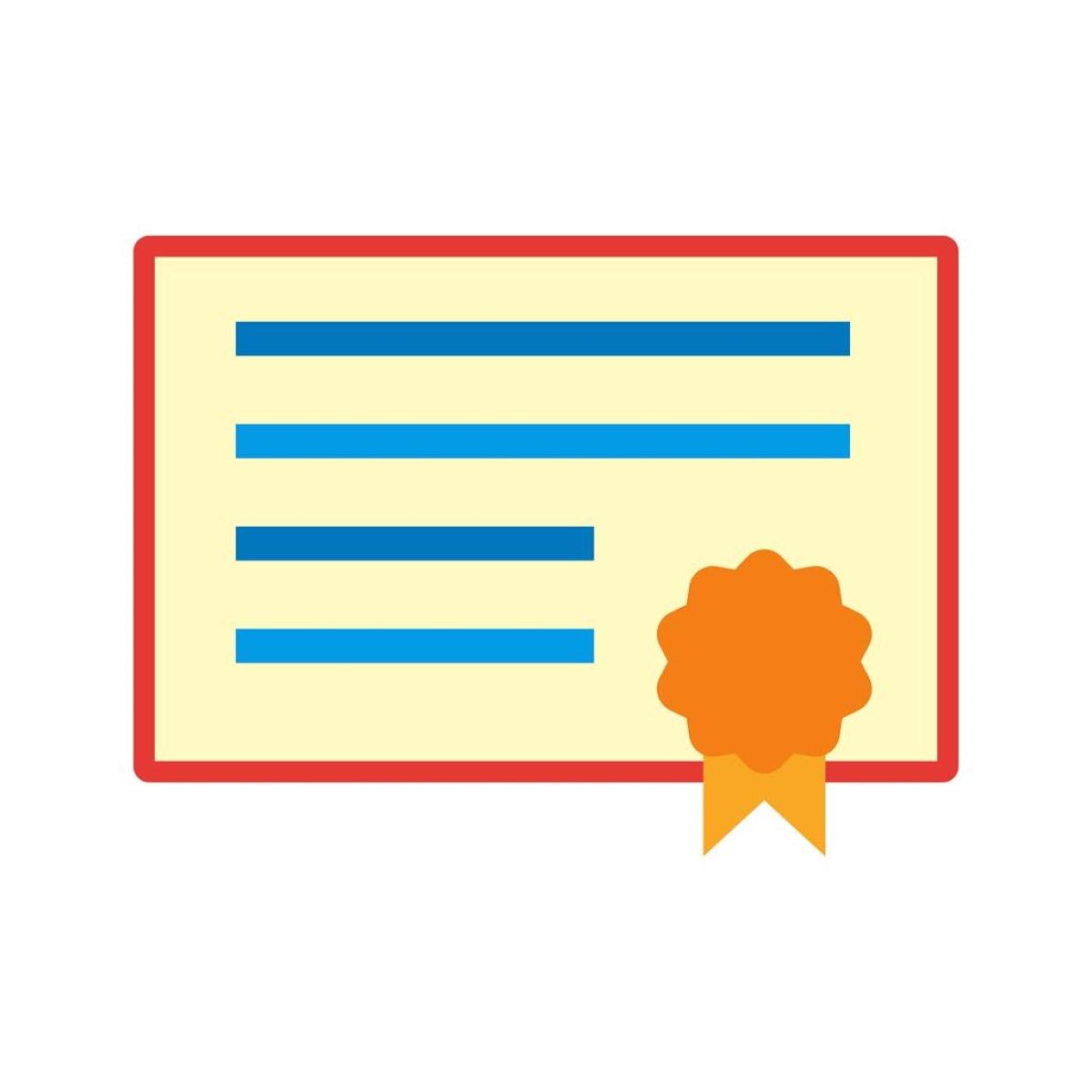 Certificate/ representative pic