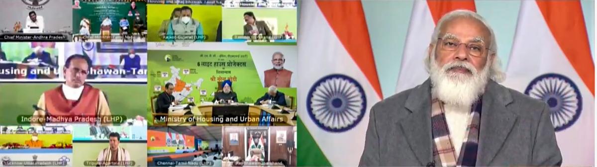 PM at virtual meeting