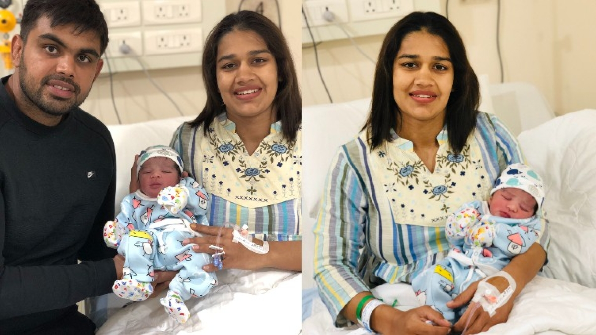 'Meet our little SONshine': Wrestlers Babita Phogat and Vivek Suhag welcome their first child