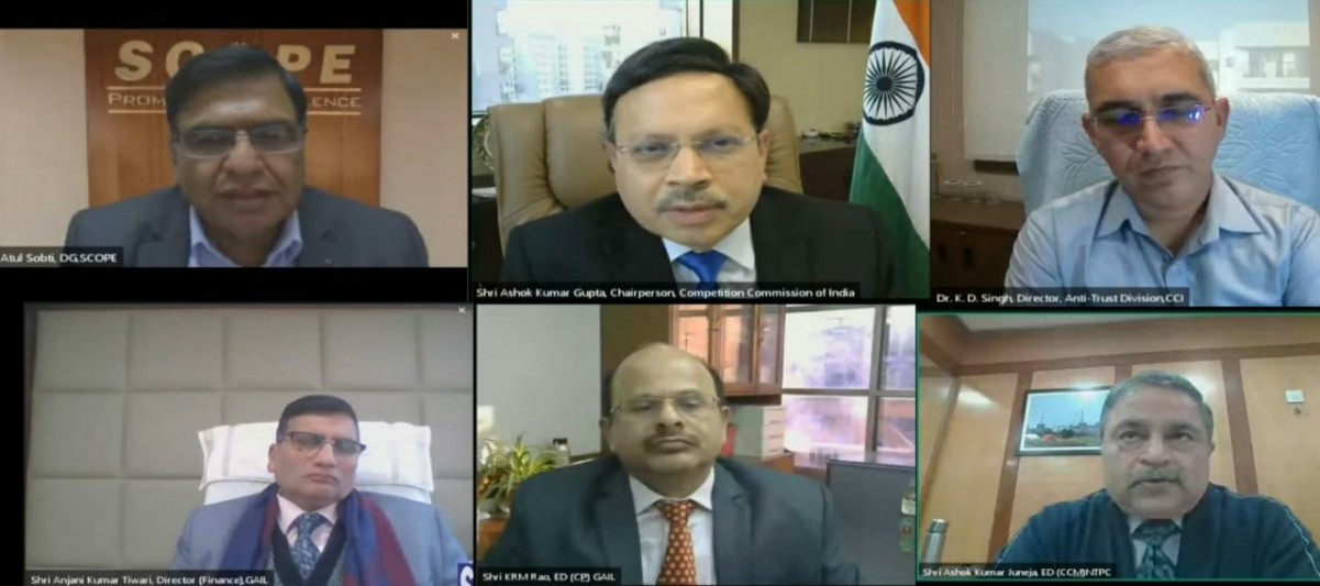 SCOPE organises a webinar on Competition Law in association with Competition Commission of India