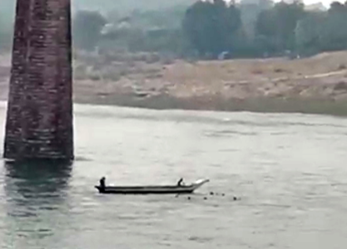 Boat used for rescue