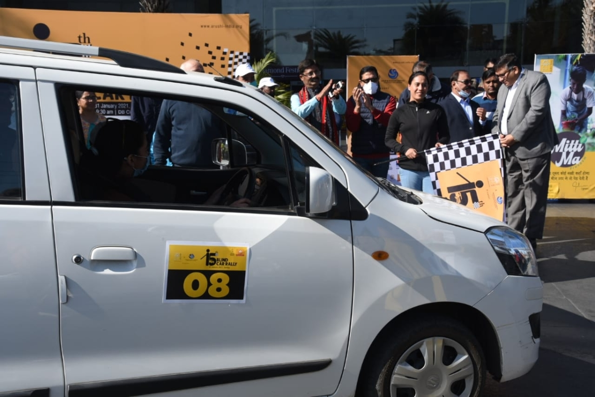 Museum director Praveen Kumar Mishra flagged off the rally in Bhopal on Sunday