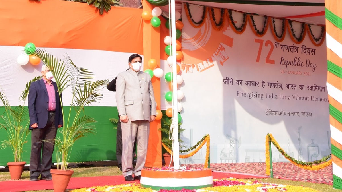 IndianOil's Refineries Division celebrates 72nd Republic Day