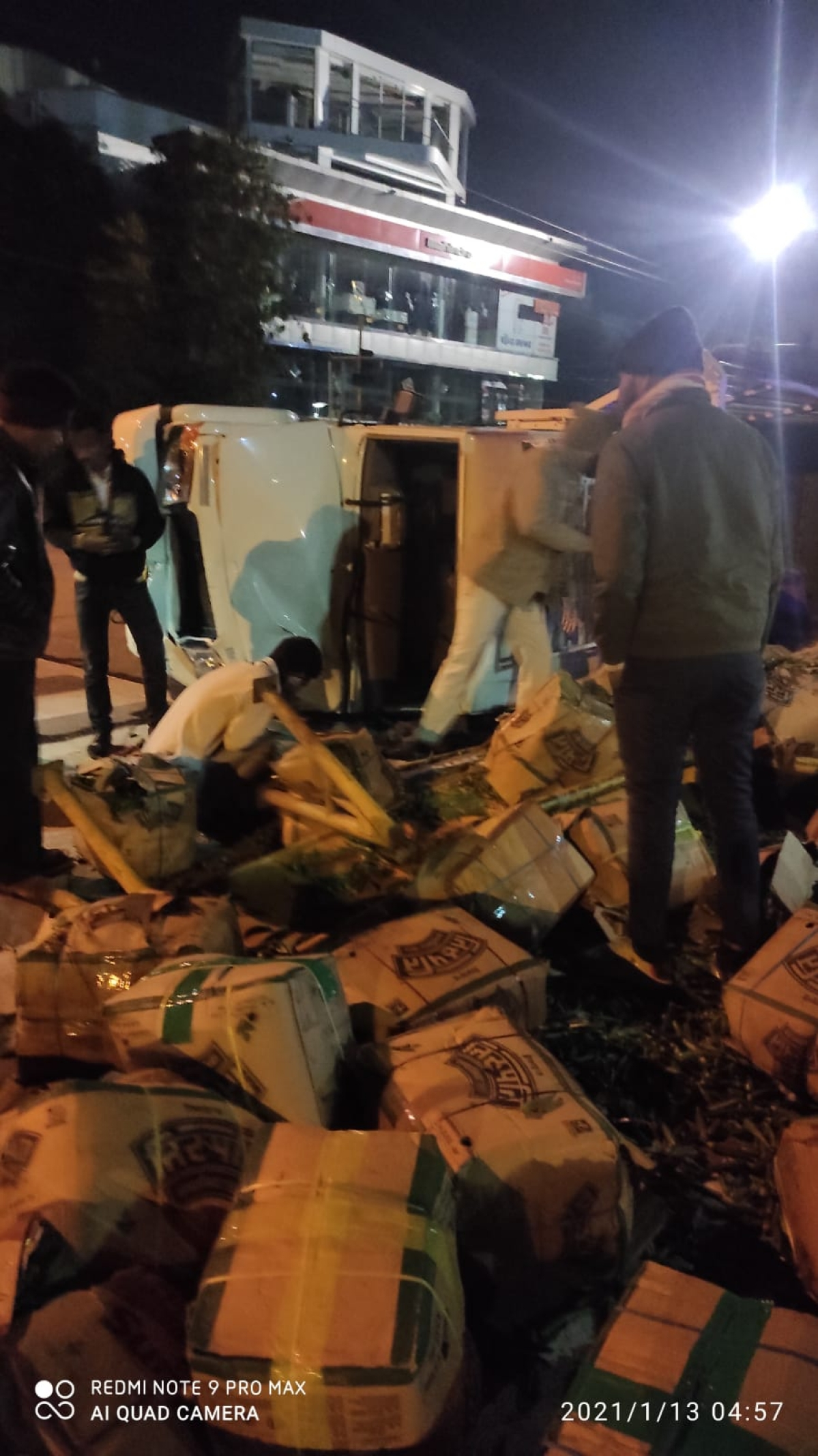 Madhya Pradesh: Two killed as loading vehicle and four-wheeler collide in Indore BRTS corridor