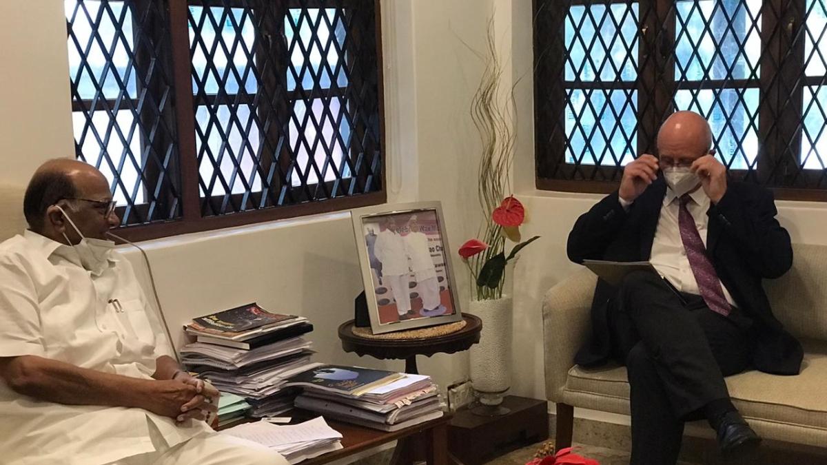 Sharad Pawar praises German Consulate over safe travel of passengers