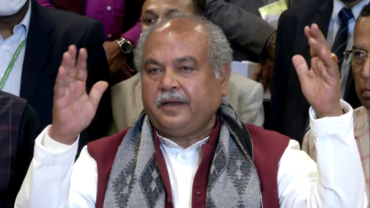 Centre has spent Rs 7.95 cr on campaign to bust myths about farm laws: Narendra Singh Tomar