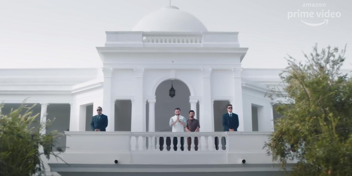 Did you notice? Saif Ali Khan's 'Tandav' has been filmed at the royal Pataudi Palace