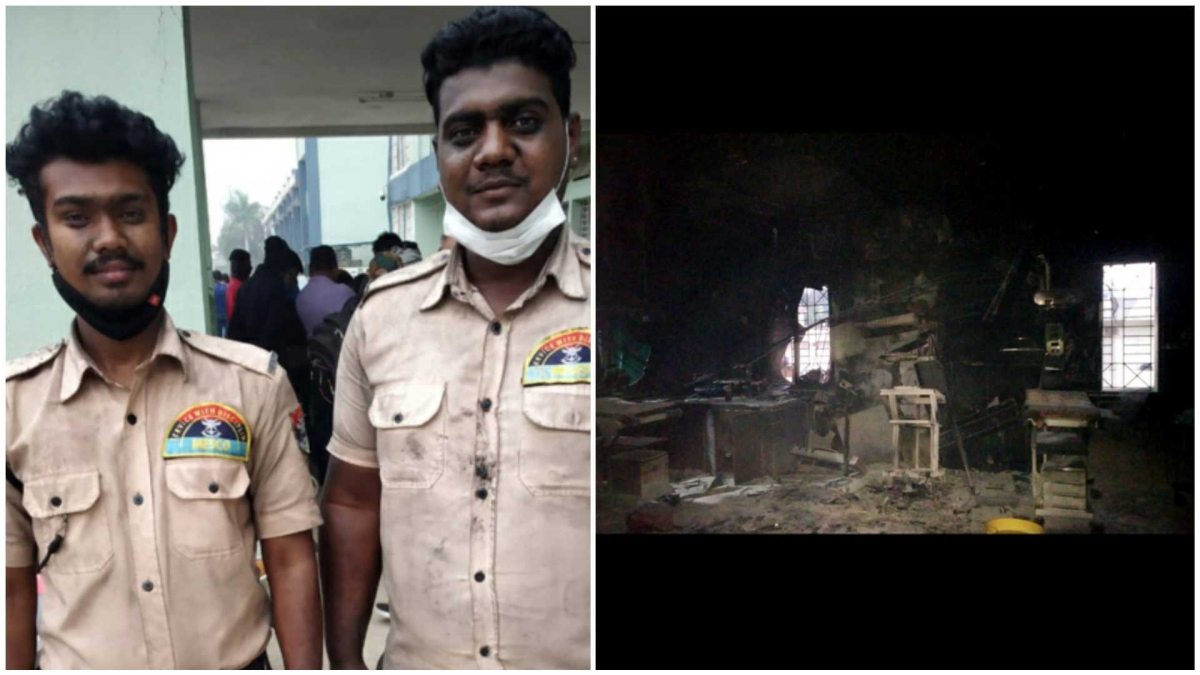 Bhandara fire tragedy: Hospital guard, friends help rescue seven newborns
