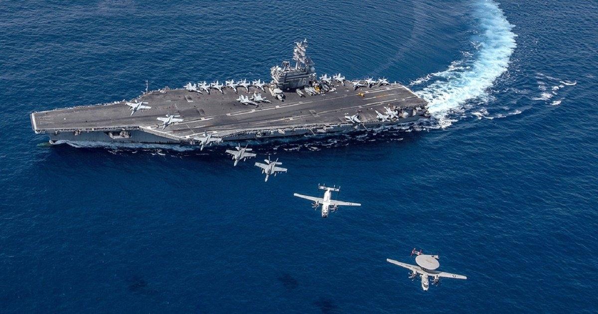 Amid increasing China-Taiwan tensions, US aircraft carrier sails into South China Sea