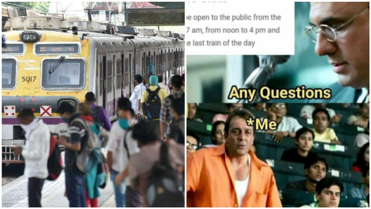 Mumbai local trains to resume operation for all from February 1; fixed time slots create confusion among netizens