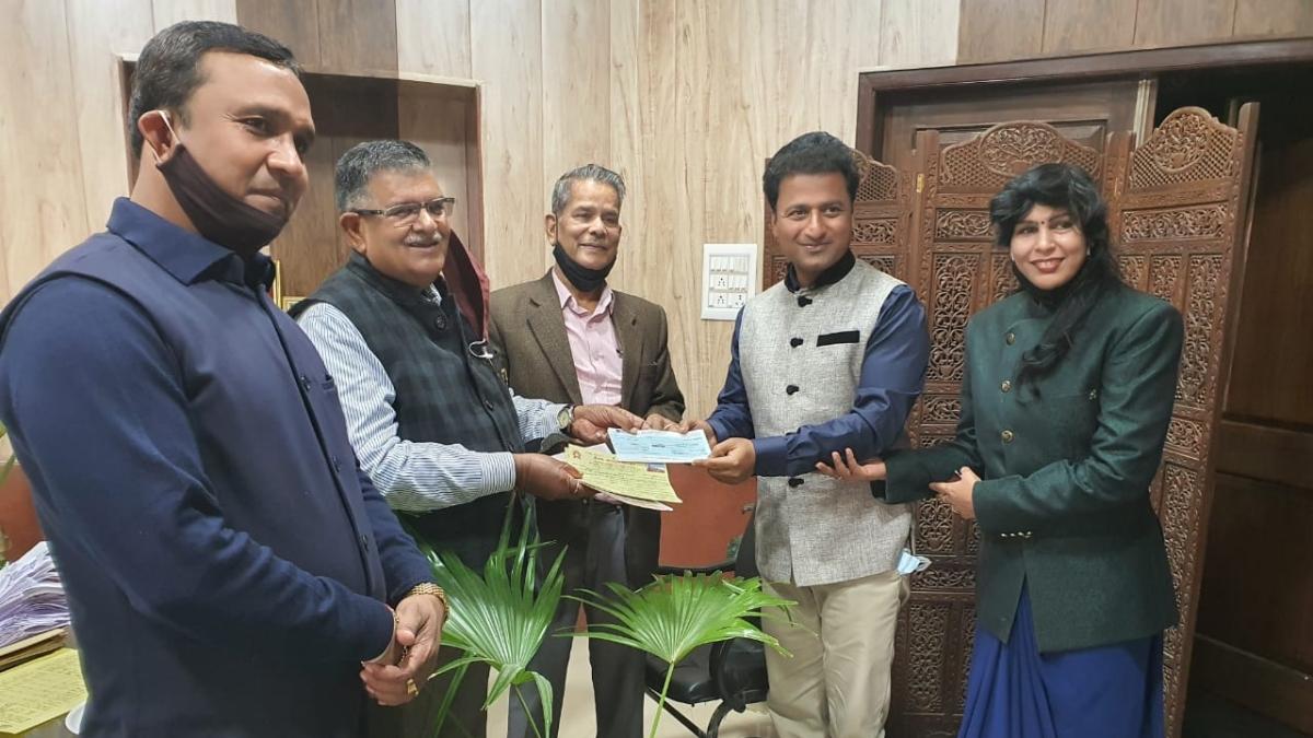 Narayan Seva Sansthan donates Rs 11 lakh for Ayodhya Ram Temple
