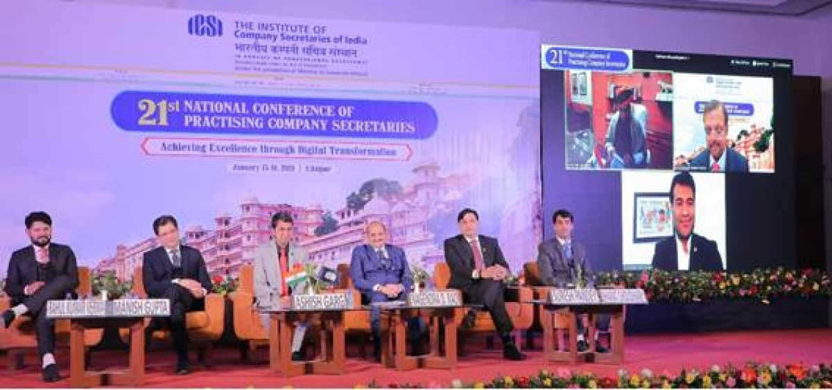 ICSI organises 21st National Conference of Practising Company Secretaries at Udaipur