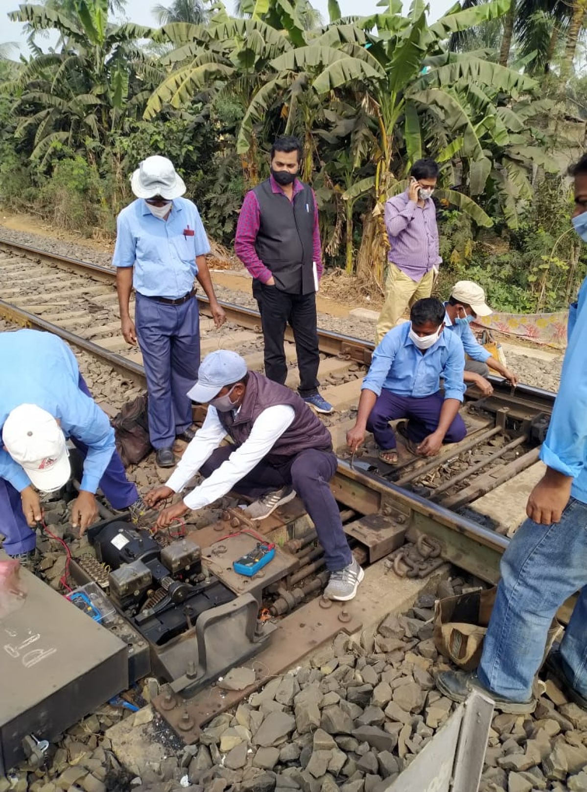 South Eastern Railway attains remarkable progress in safety-related works of signal & telecommunication amid lockdown