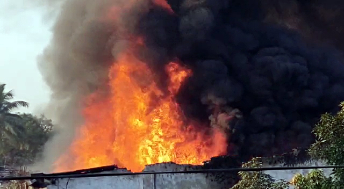 Sangli: Sugar mill's field office gutted in fire