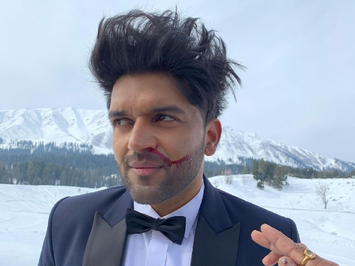 Guru Randhawa suffers nose bleed while shooting in Kashmir