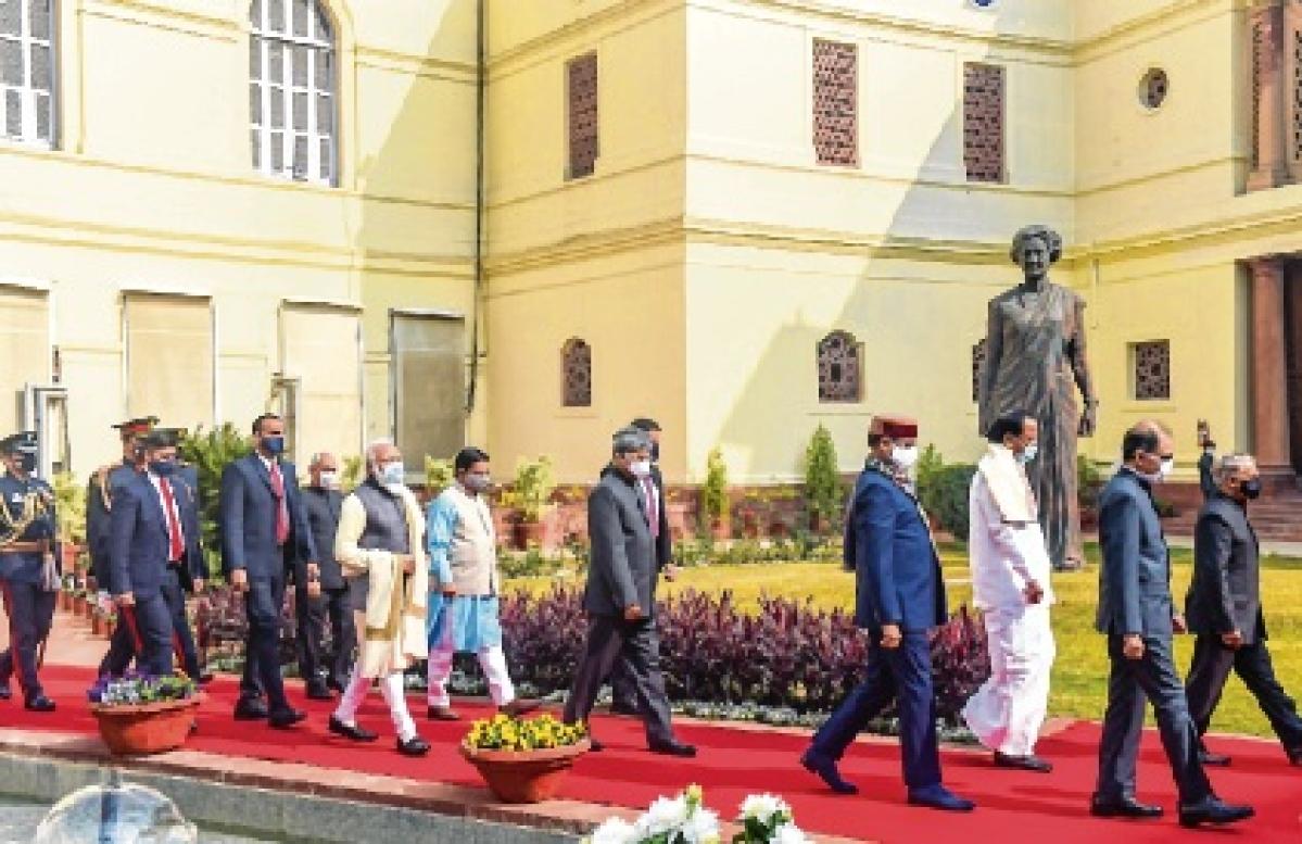 Budget Session: Entire Opposition boycotts President's address
