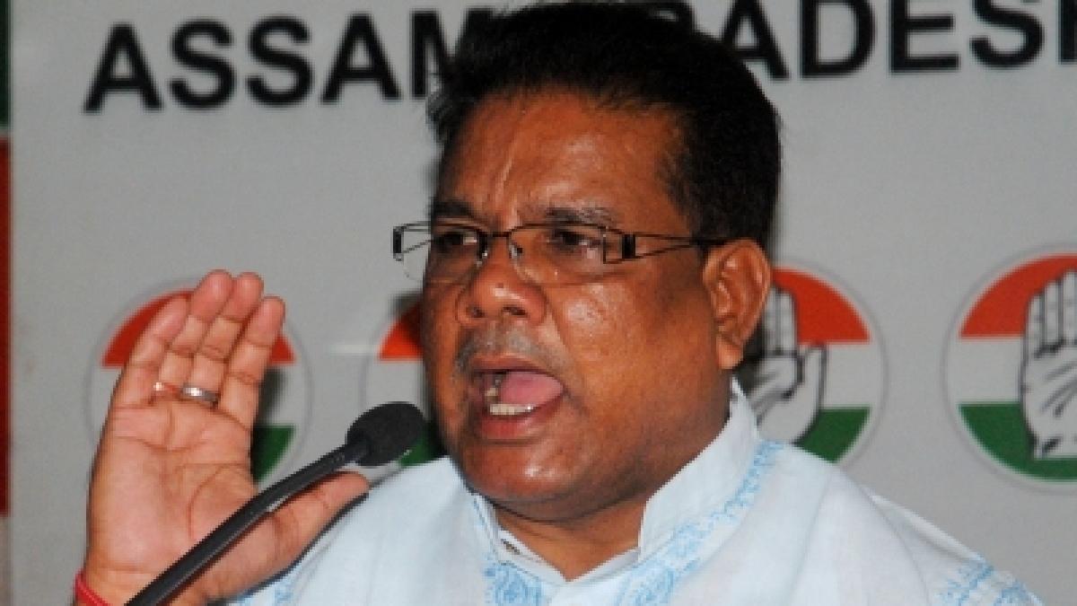 Congress Rajya Sabha MP Ripun Bora