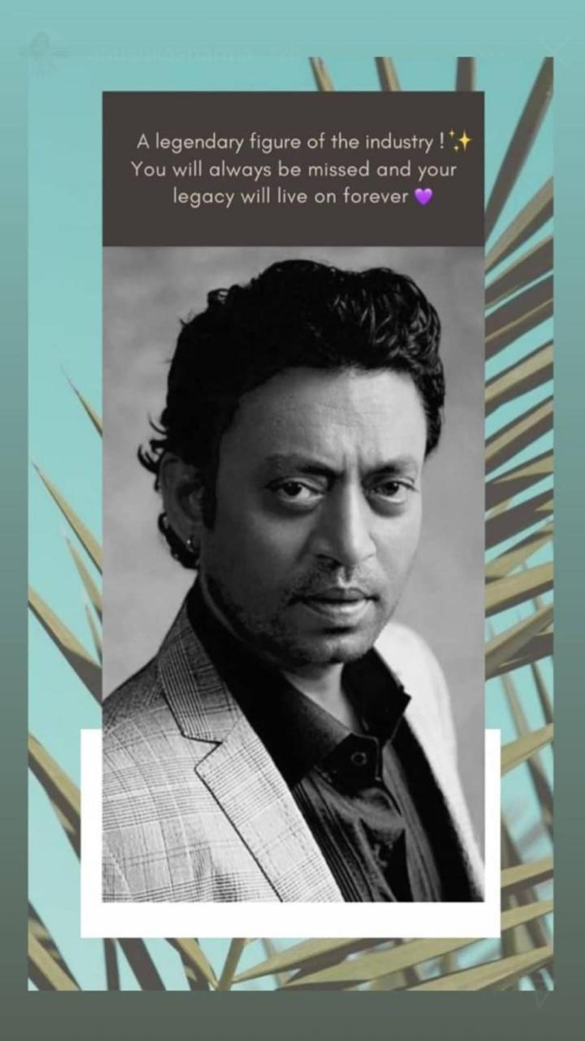 Irrfan Khan birth anniversary: Ayushmann Khurrana, Anushka Sharma and others remember the late star
