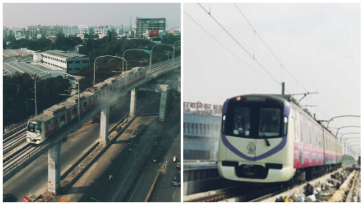 Pune Metro completes trial run of 6 Km from PCMC to Phugewadi
