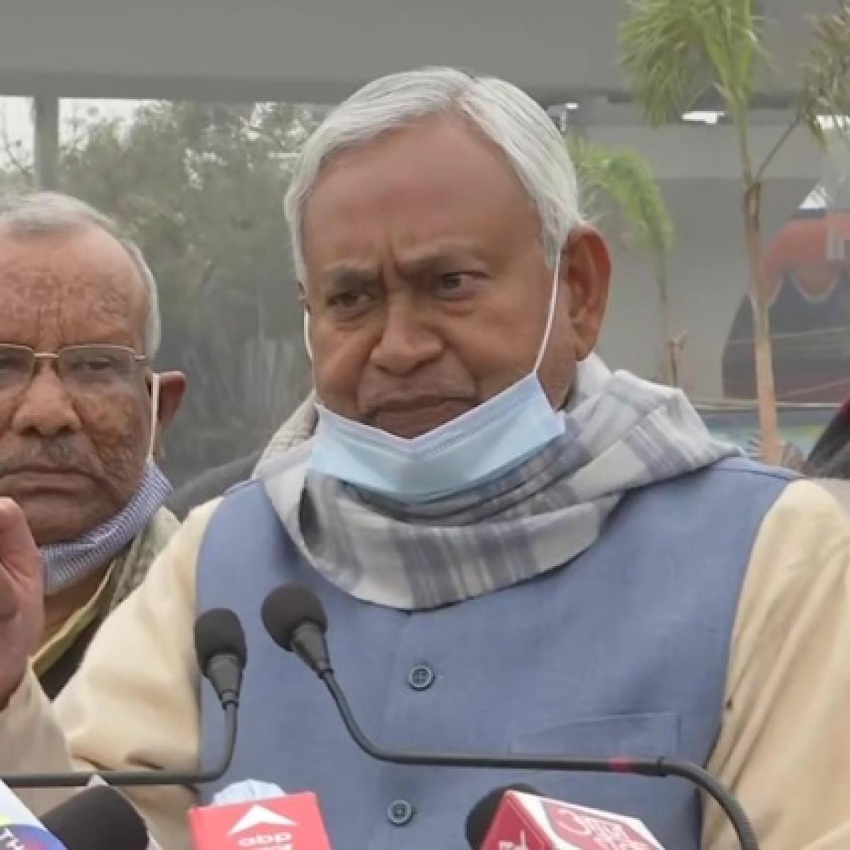 'Don't demoralise Police': Bihar CM Nitish Kumar on Indigo executive's murder case