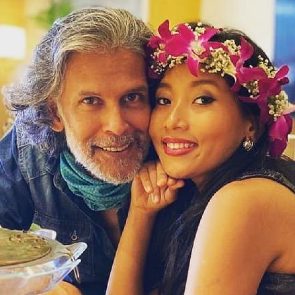 Check out Milind Soman's epic reply when asked if chances of cheating on a much younger wife are less