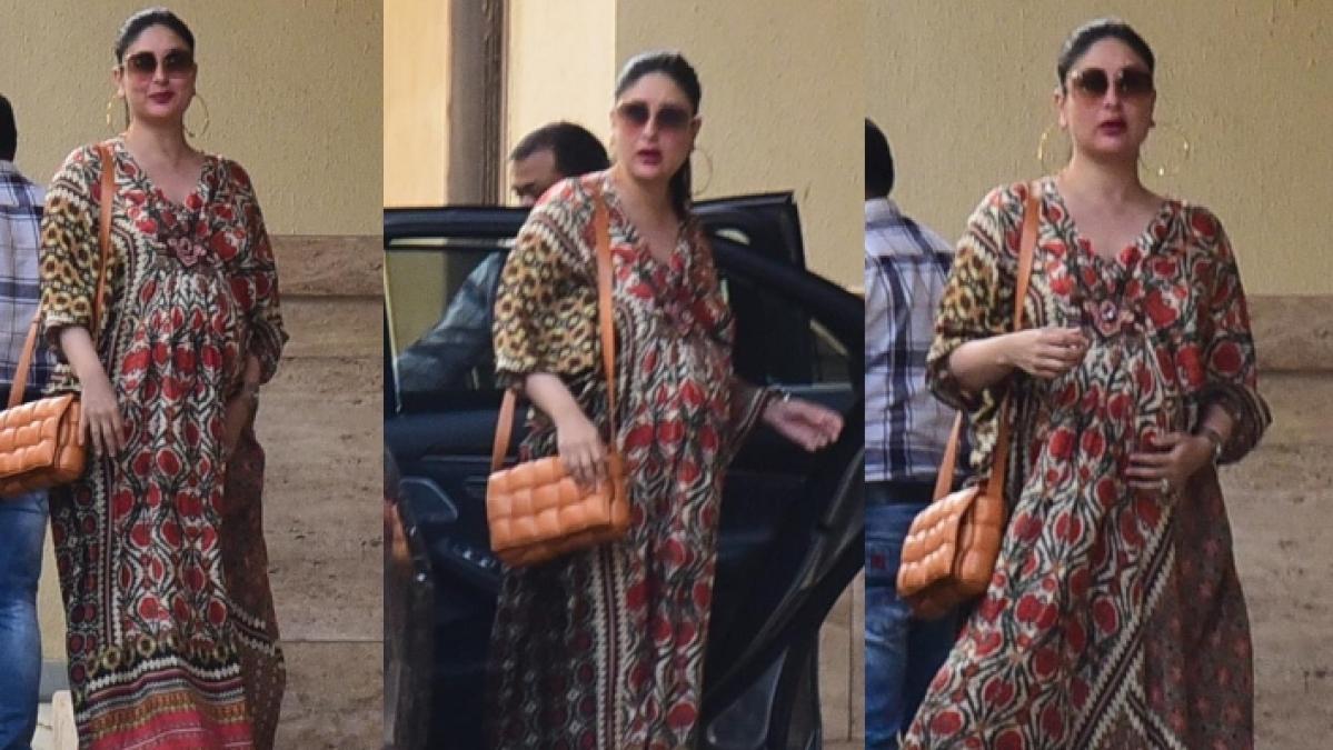 In Pics: Kareena Kapoor Khan once again stuns in a kaftan dress as she arrives for BFF Amrita Arora's birthday bash