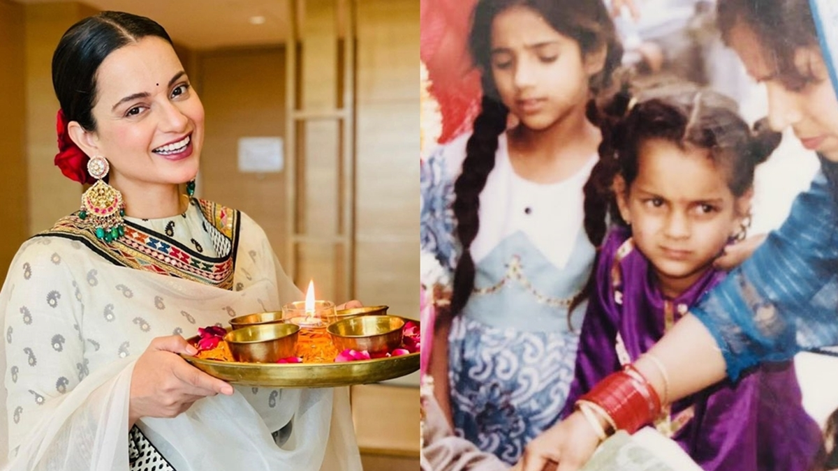 'Children in joint families have more fun than city kids in nuclear families': Kangana's take on Lohri