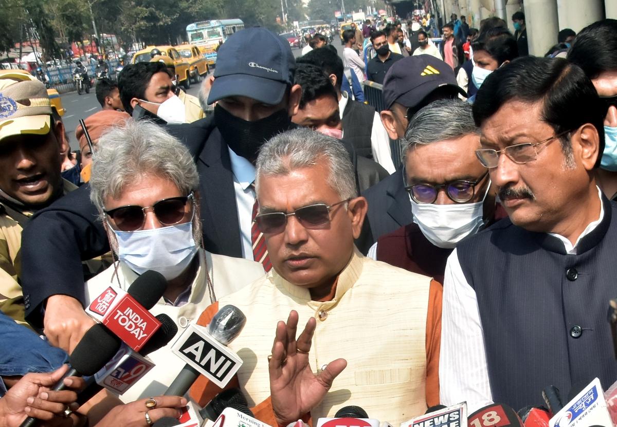West Bengal: Factional feud in BJP, leaders claim TMC's ploy