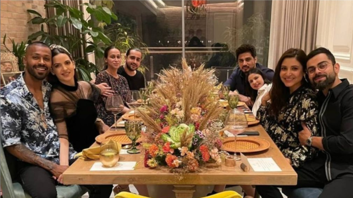 Virat Kohli, Hardik Pandya come together to celebrate New Year with family